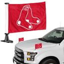Boston Red Sox Flag Set 2 Piece Ambassador Style