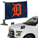 Detroit Tigers Flag Set 2 Piece Ambassador Style