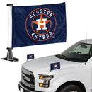 Houston Astros Flag Set 2 Piece Ambassador Style
