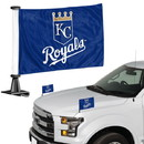 Kansas City Royals Flag Set 2 Piece Ambassador Style