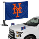 New York Mets Flag Set 2 Piece Ambassador Style