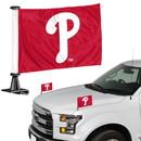 Philadelphia Phillies Flag Set 2 Piece Ambassador Style