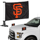 San Francisco Giants Flag Set 2 Piece Ambassador Style