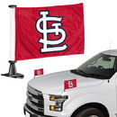 St. Louis Cardinals Flag Set 2 Piece Ambassador Style