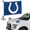 Indianapolis Colts Flag Set 2 Piece Ambassador Style