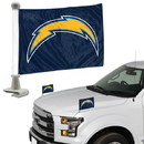 Los Angeles Chargers Flag Set 2 Piece Ambassador Style