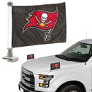 Tampa Bay Buccaneers Flag Set 2 Piece Ambassador Style
