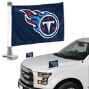 Tennessee Titans Flag Set 2 Piece Ambassador Style
