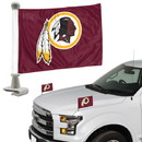 Washington Redskins Flag Set 2 Piece Ambassador Style