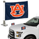 Auburn Tigers Flag Set 2 Piece Ambassador Style