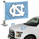 North Carolina Tar Heels Flag Set 2 Piece Ambassador Style