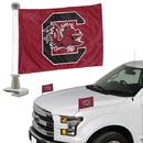 South Carolina Gamecocks Flag Set 2 Piece Ambassador Style