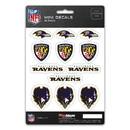 Baltimore Ravens Decal Set Mini 12 Pack