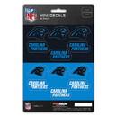 Carolina Panthers Decal Set Mini 12 Pack