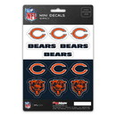 Chicago Bears Decal Set Mini 12 Pack