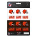 Cleveland Browns Decal Set Mini 12 Pack