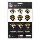 Jacksonville Jaguars Decal Set Mini 12 Pack