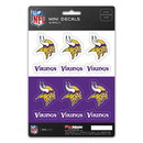 Minnesota Vikings Decal Set Mini 12 Pack