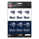 Los Angeles Rams Decal Set Mini 12 Pack