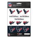 Houston Texans Decal Set Mini 12 Pack