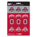 Ohio State Buckeyes Decal Set Mini 12 Pack