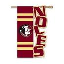 Florida State Seminoles Flag Garden Style Applique Sculpted