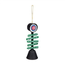 Chicago Cubs Ornament Fan Crossing Design