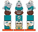 Miami Dolphins Tiki Totem 2018