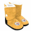 Pittsburgh Steelers Slippers - Womens Boot -