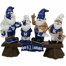 Kansas Jayhawks Garden Gnome - Fans on Bench