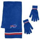 Buffalo Bills Scarf and Glove Gift Set Chenille