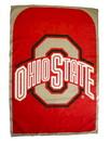 Ohio State Buckeyes Fan Flag Pre 2014 Logo