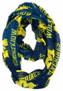 Michigan Wolverines Infinity Scarf