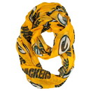 Green Bay Packers Infinity Scarf - Alternate