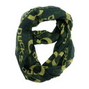 Oregon Ducks Scarf Infinity Style Special Order