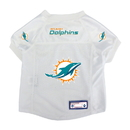 Miami Dolphins Pet Jersey Size XS