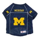 Michigan Wolverines Pet Jersey Size XS