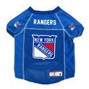 New York Rangers Pet Jersey Size S