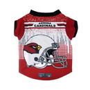 Arizona Cardinals Pet Performance Tee Shirt Size M