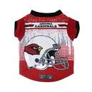 Arizona Cardinals Pet Performance Tee Shirt Size XL