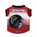 Atlanta Falcons Pet Performance Tee Shirt Size XL