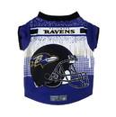 Baltimore Ravens Pet Performance Tee Shirt Size S