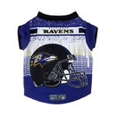 Baltimore Ravens Pet Performance Tee Shirt Size L