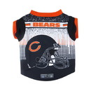 Chicago Bears Pet Performance Tee Shirt Size M