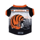 Cincinnati Bengals Pet Performance Tee Shirt Size S