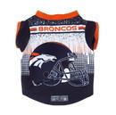 Denver Broncos Pet Performance Tee Shirt Size XS