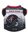 Houston Texans Pet Performance Tee Shirt Size XS