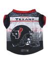 Houston Texans Pet Performance Tee Shirt Size XL