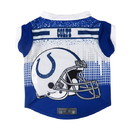 Indianapolis Colts Pet Performance Tee Shirt Size XS