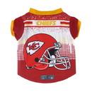 Kansas City Chiefs Pet Performance Tee Shirt Size XS